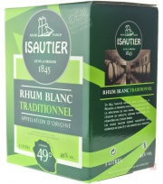 Bag In Box Isautier Rhum blanc 49° 300cl