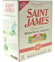 Saint James Cubi 3L 40° Blanc