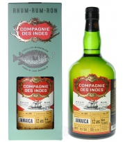 La Compagnie des Indes - Jamaïque 12 ans Single Cask (Distillerie New Yarmouth)