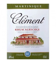 Clément - (Bag In Box) Rhum Blanc 40° 450cl