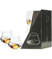 Two Rum Glass for Degustation