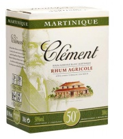 Bag In Box Clément Rhum Blanc 50° 300cl