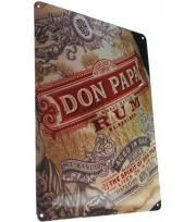 Plaque métal Don Papa Small Batch