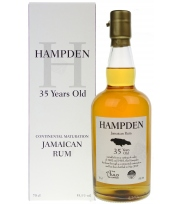 Corman Collins - Hampden Jamaican Rum 1983