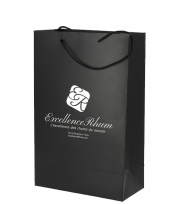 Gift Bag black Excellence Rhum - 2 bottle