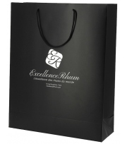 Gift Bag black Excellence Rhum - 3 bottle