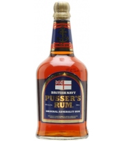 Pusser's 40° Navy Rum Blue Label