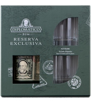 Diplomatico - Gift Box Reserva Exclusiva + 2 Glasses