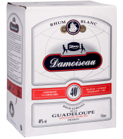 Bag In Box Damoiseau Rhum Blanc 40° 500cl
